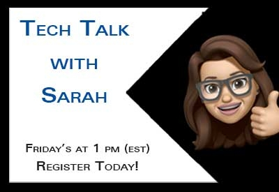 Rewatch Tech Talk with Sarah
