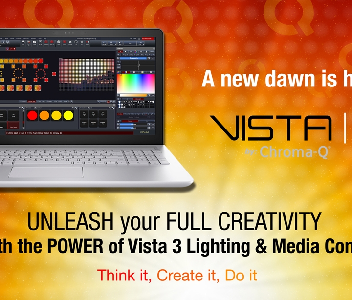 Chroma-Q® has acquired Jands Vista software and hardware lighting control systems
