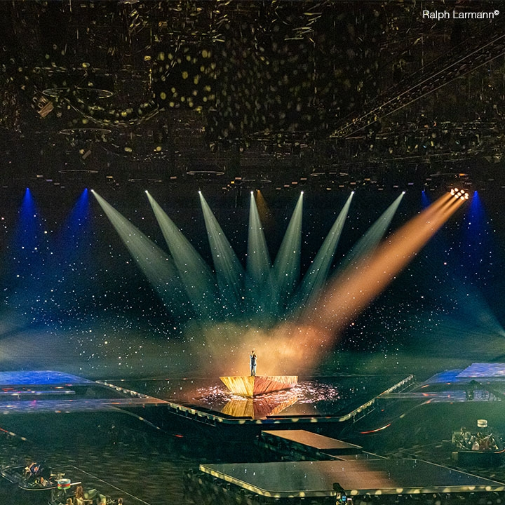 Follow-Me tracks at the Ahoy for Eurovision'21