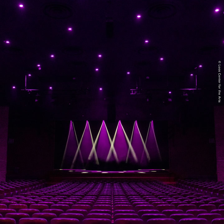 The Woodstock Academy includes Chroma-Q® and Follow-Me in Loos Center for the Arts