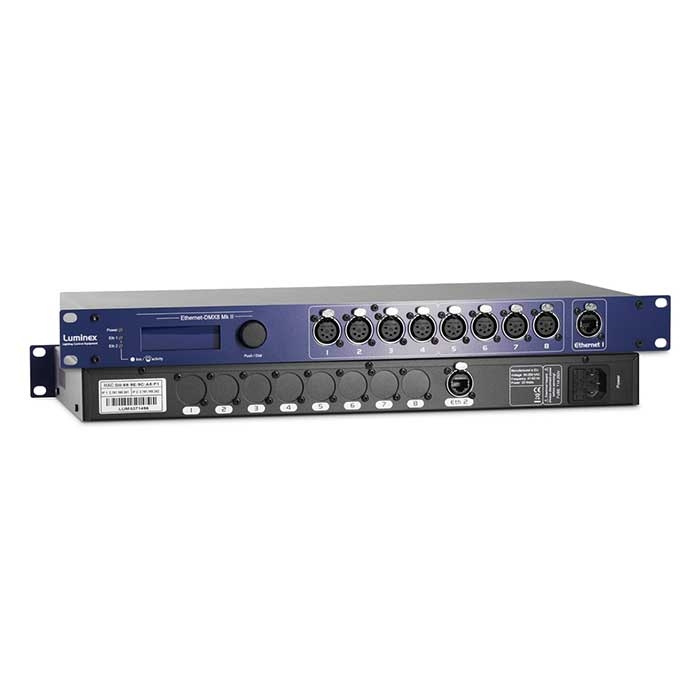 Ethernet DMX8 MKII