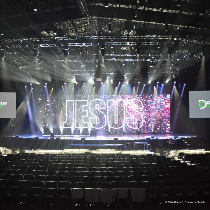 A.C. Lighting Inc. Delivers a Stellar Lighting Rig to Discovery Church