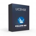 Follow-Me Multi-Target Software License