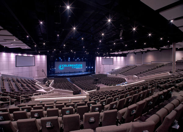 Jands Flagship Vista L5 Console Controls Demanding Lighting & Media Shows for US Megachurch