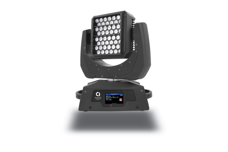 Chroma-Q Launches AutoLED II Ultra Bright Daylight White LED Moving Light at Prolight and Sound 2013